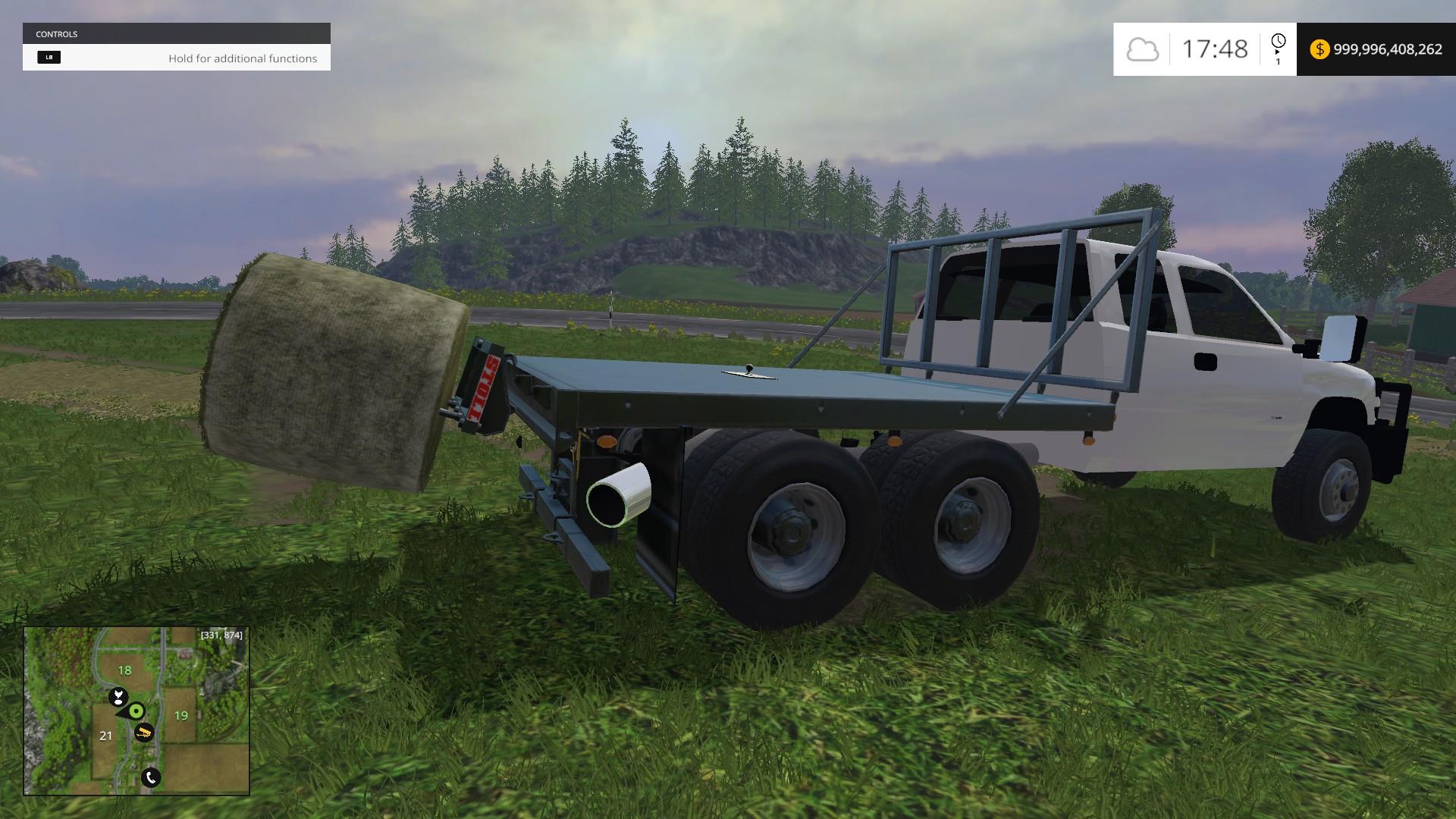 Duramax Flatbed Updated for FS 15 - Farming simulator 2015 / 15 LS mod