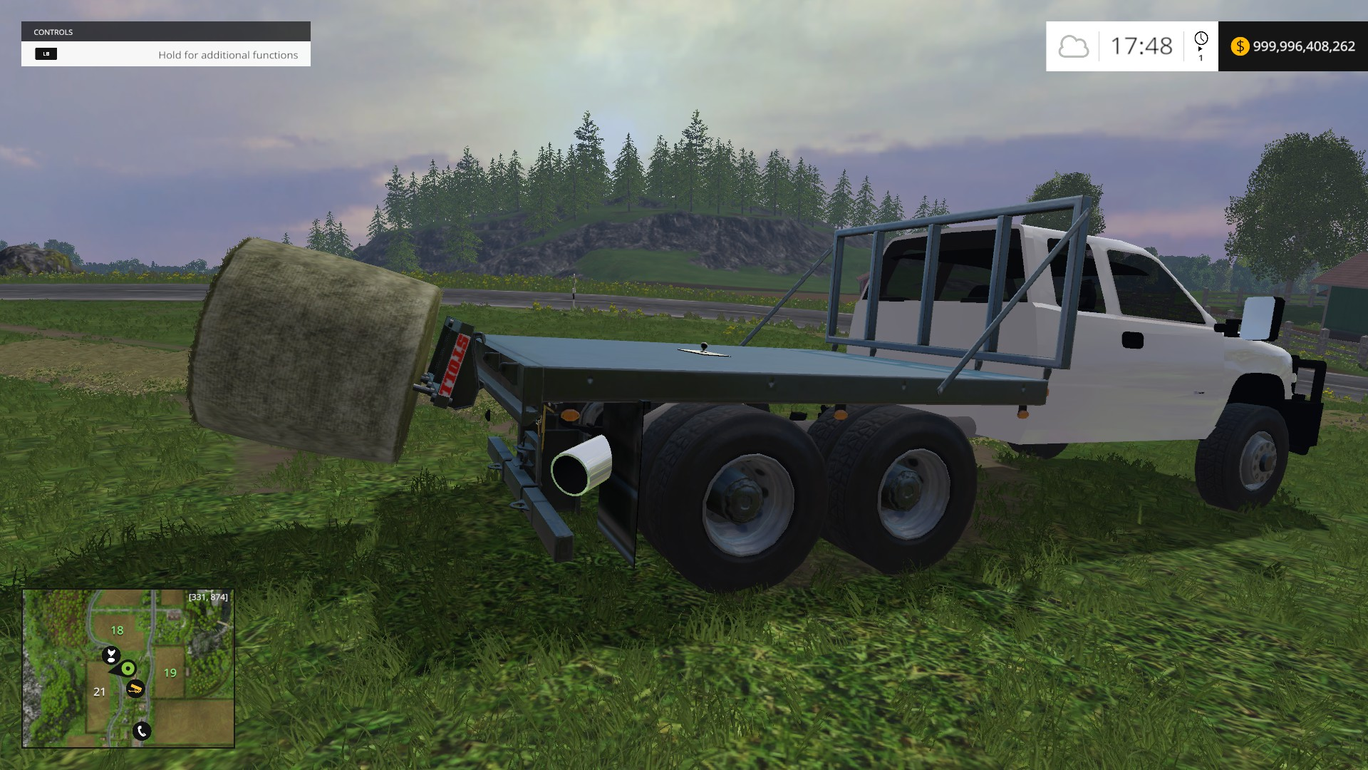 Chevy Duramax Flatbed for FS 15
