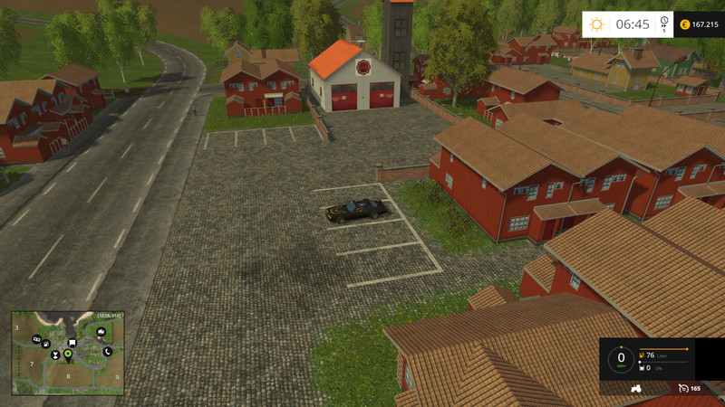 Firemen Map V For FS Farming Simulator - Southern norway map ls15