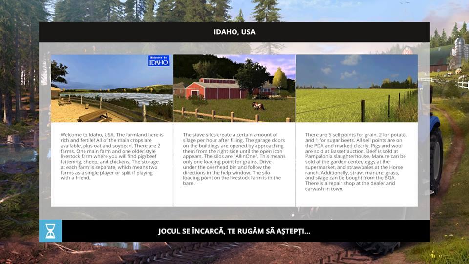 IDAHO USA Map For FS Farming Simulator - Farming simulator 2015 us map feed cows