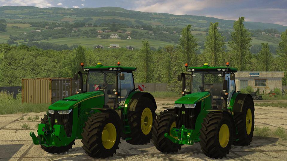 скачать моды для farming simulator 2015 джон дир