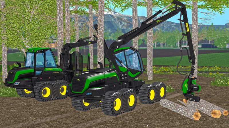 John Deere Forestry V 1.0 for FS 15