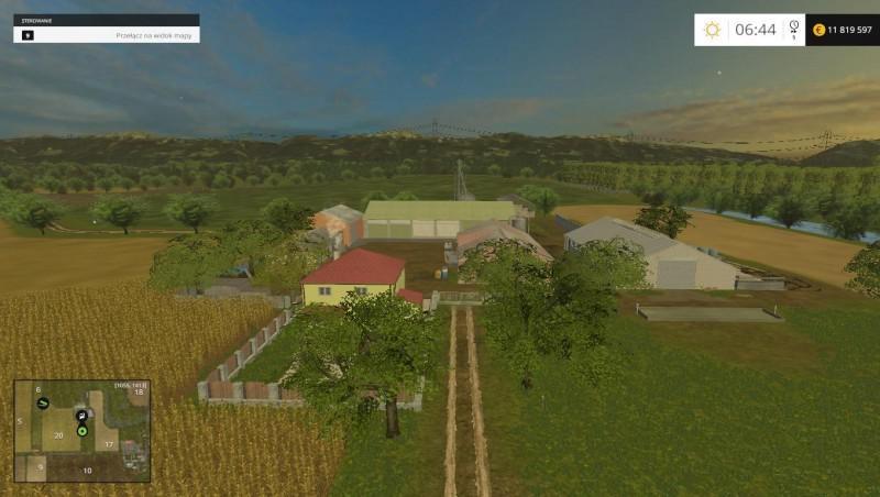 Kujawska Dolina Map For FS V Farming Simulator - Farming simulator 2015 us map feed cows