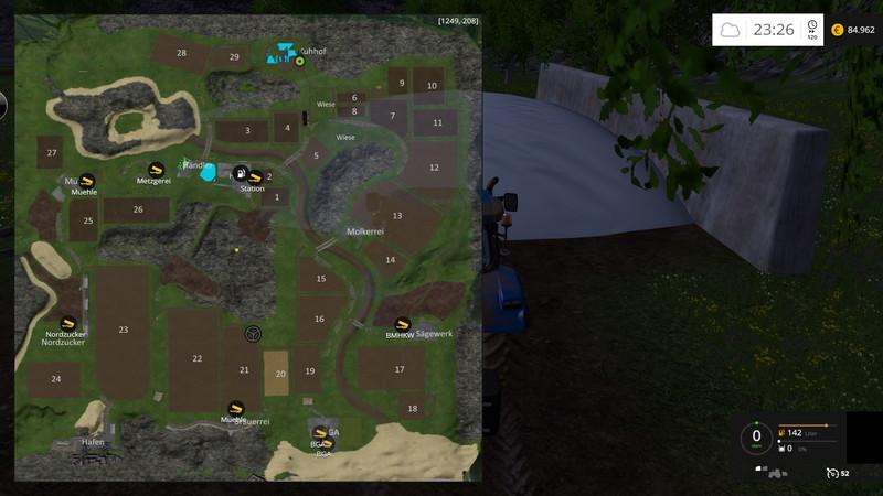 LS Map For FS V Farming Simulator - Farming simulator 2015 us map feed cows