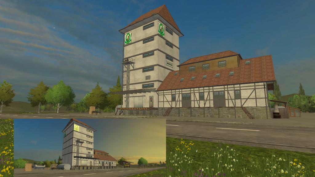 Landhandel building