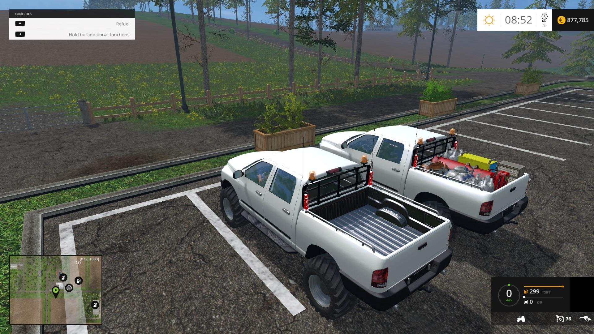 AND STANDARD PICKUP CAR V1.1 - Farming simulator 2015 / 15 LS mod