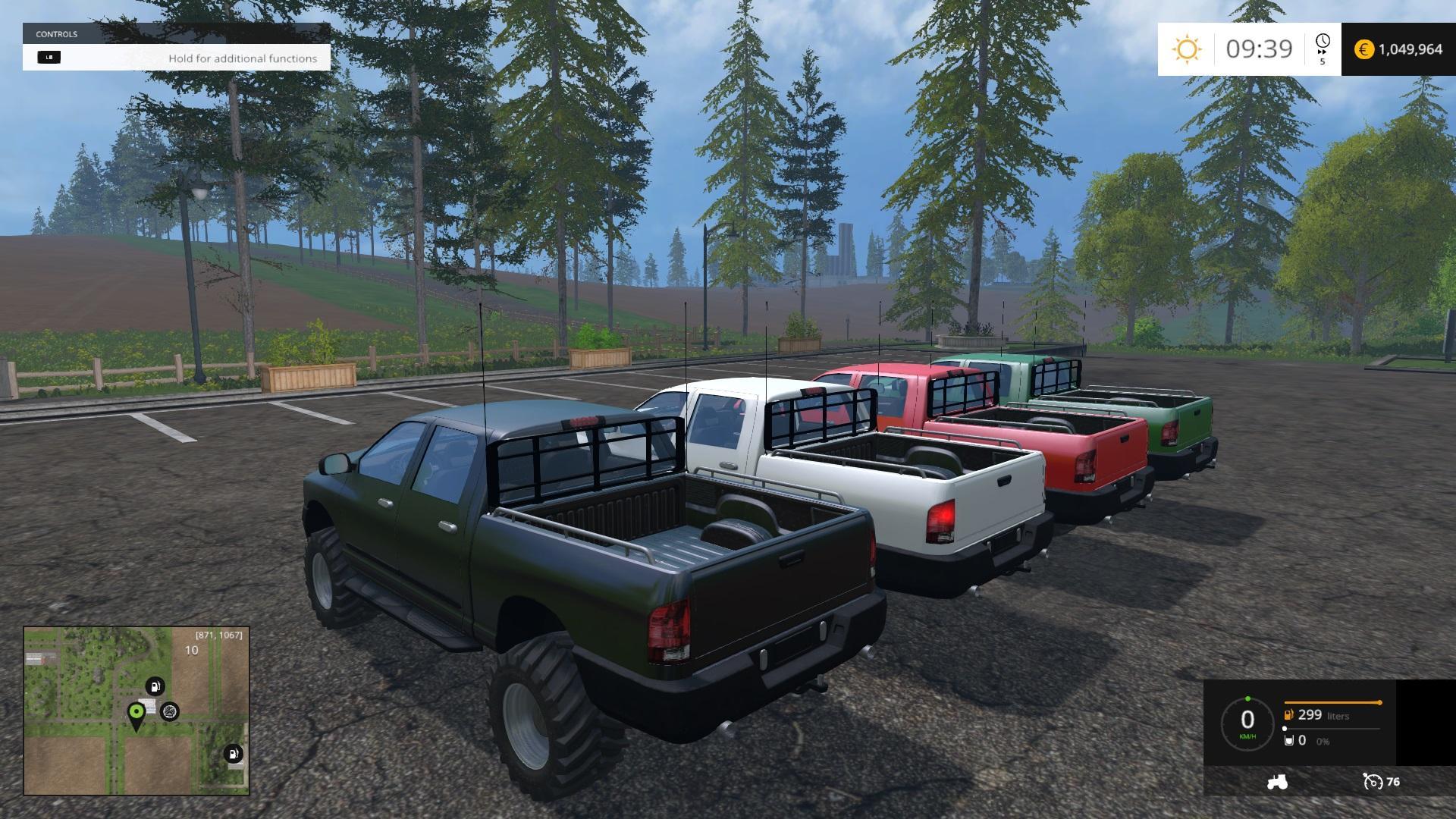 Fs15 pickup truck mods