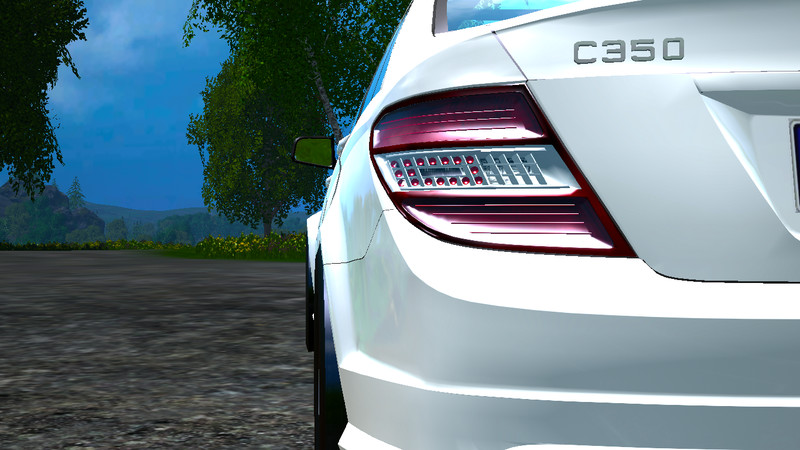 mercedes benz c350 cdi v 1.0 for fs 2015 - farming simulator 2017