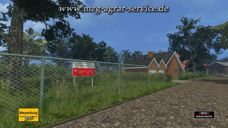 Meyenburg 2015 Map V 1.0 - Farming simulator 2015 / 15 LS mod