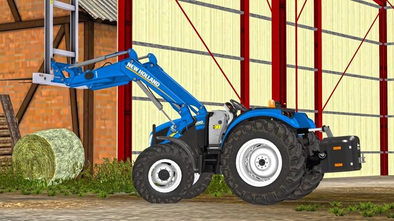 Nh 75 T4 Garden V 3 0 For Ls 15 Farming Simulator 19 17 15 Mod