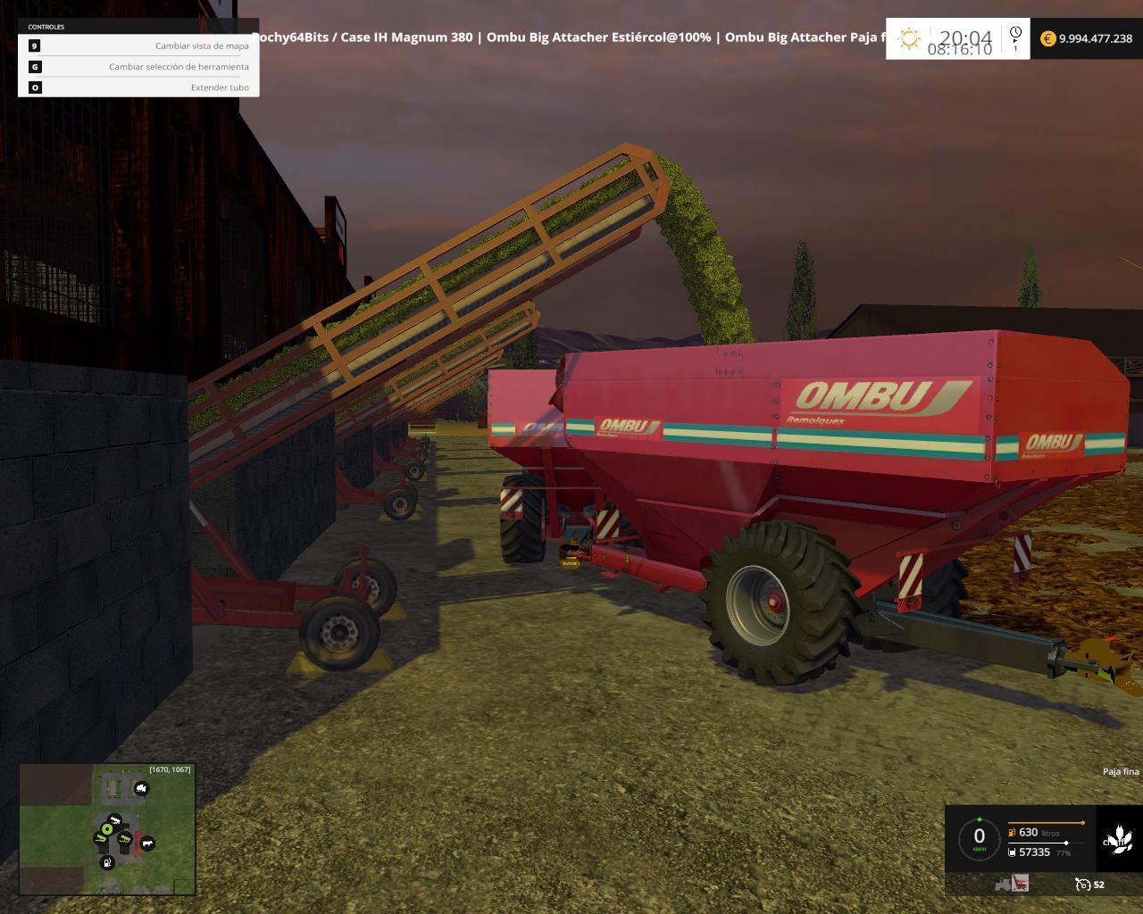 OMBU BIG TRAILERS ATTACHER V For FS Farming Simulator - Argentina map farming simulator 2013