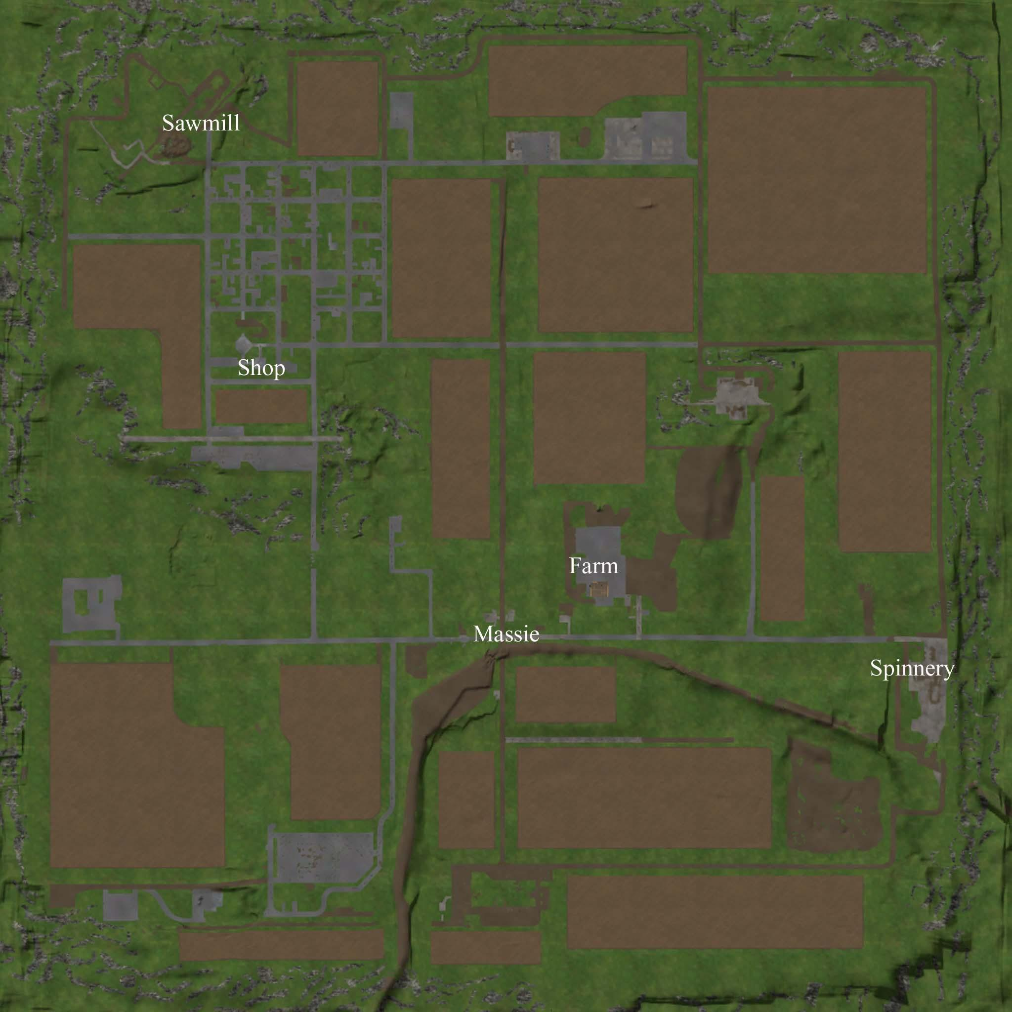 Canadian Map Fs17%0A ONTARIO  CANADA MAP V