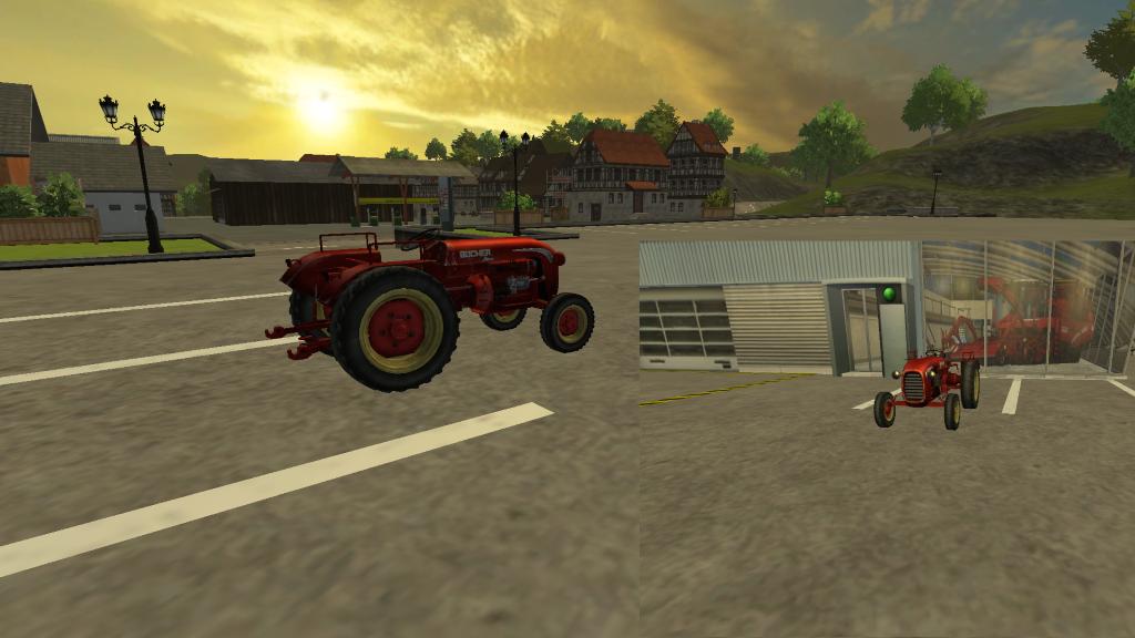Old Tractor for FS 15 - Farming simulator 2019 / 2017 / 2015 Mod