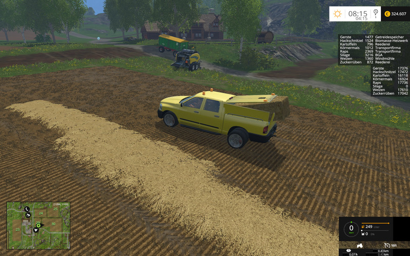 pickup set with fun mod v 1 0 for fs 15 farming