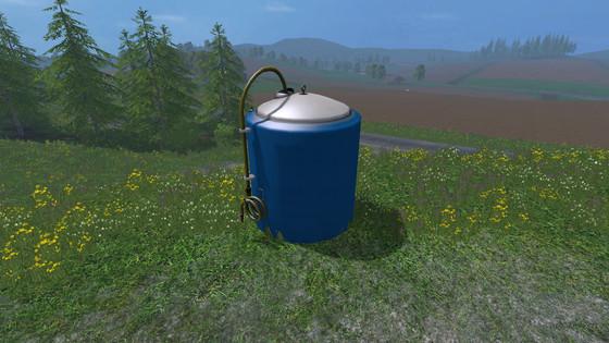 Placeable Fertilizer Tank For Fs 2015 Farming Simulator