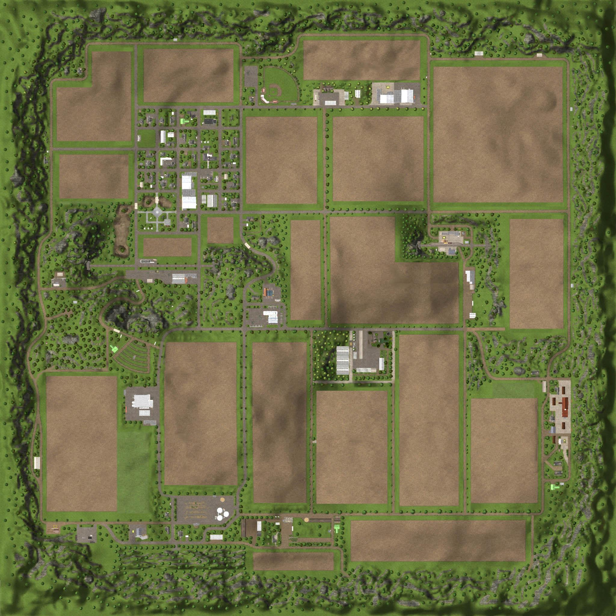 RINGWOODS FARM MAP V10 for FS 15