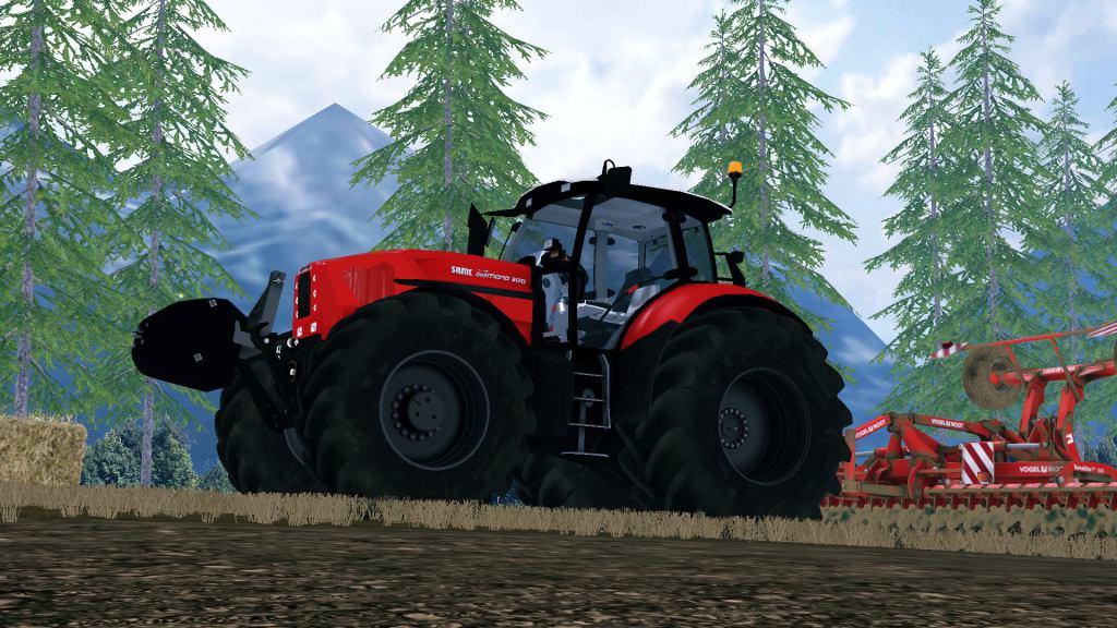 Same Diamond 200 Tractor