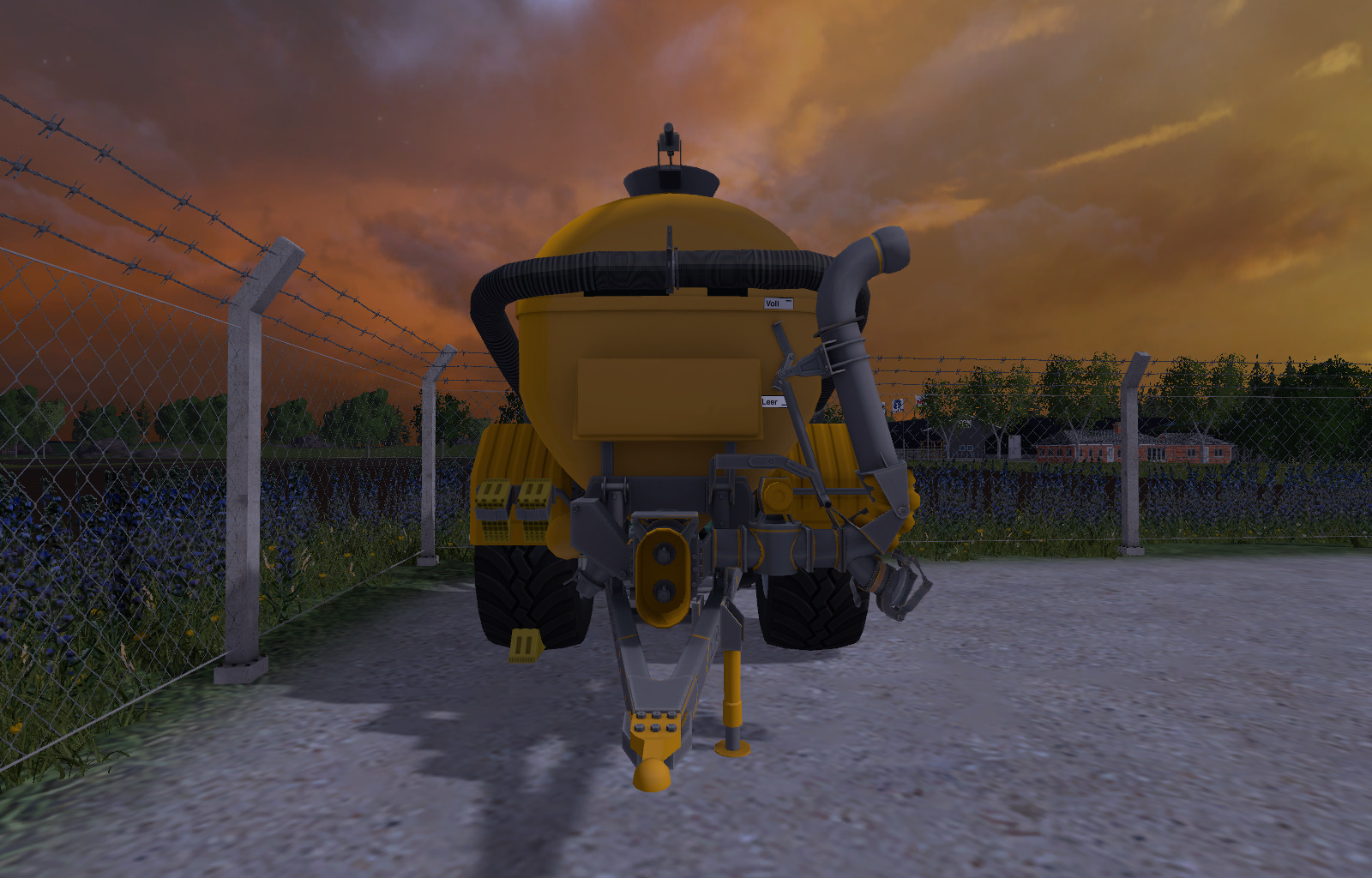 how to fill the slurry tanker on farm simulator