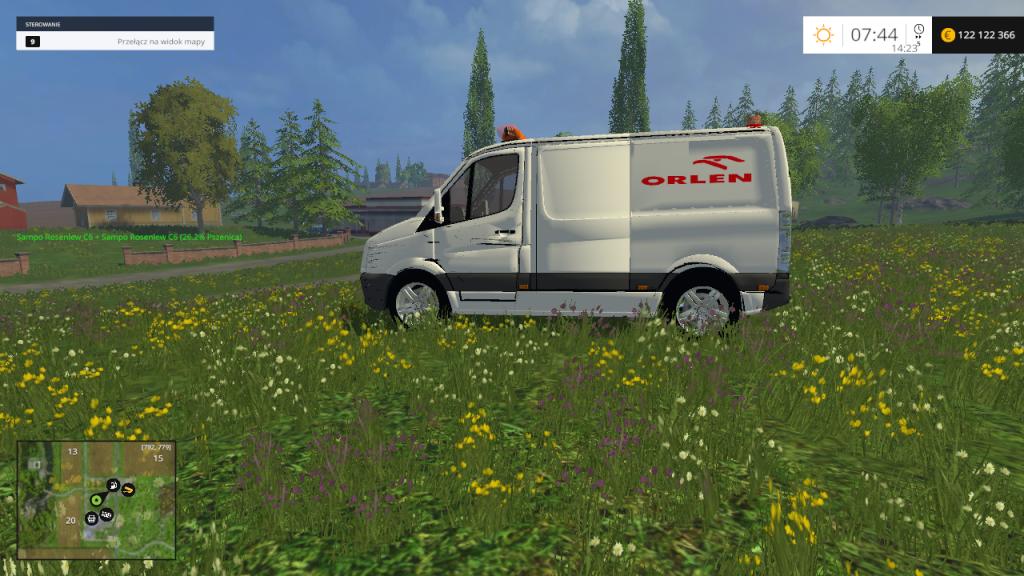 Volkswagen Service Car scined Orlen for FS 2015