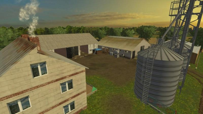 WARMIA MAP V Farming Simulator LS Mod - Farming simulator 2015 us map feed cows