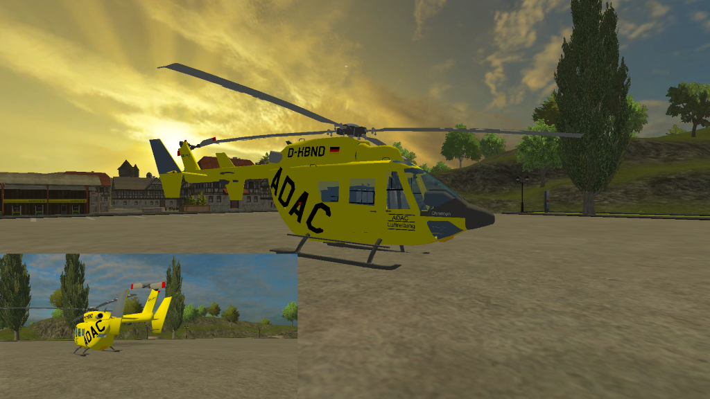 adac heli for fs - Helicopter Mod