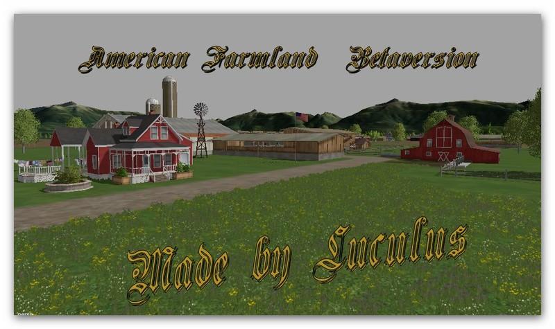 American Farmland Map V 01 Farming simulator 2017 2015 15