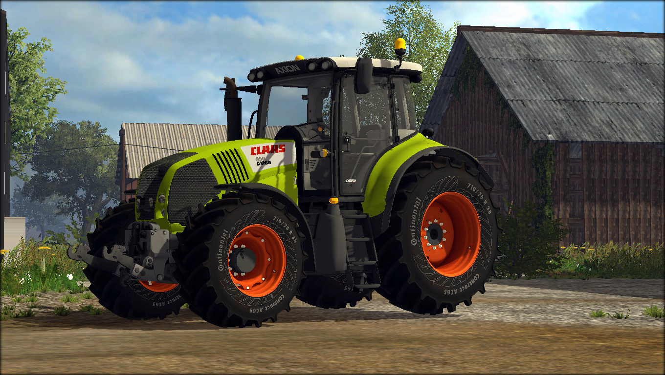 Tire Ratings Guide >> Claas Axion 850 V5 Tractor - Farming simulator 19 / 17 ...