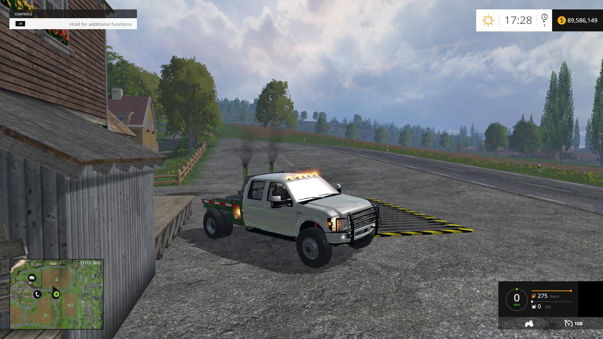 F350 Ford Diesel Street Dually Mod - Farming simulator 2019