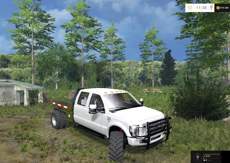 Ford F350 Diesel Dually V 1 2 for LS 15 - Farming simulator