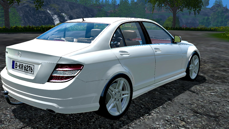 mercedes benz c350 cdi car v 1 1 farming simulator 2015 15 ls mod. Black Bedroom Furniture Sets. Home Design Ideas