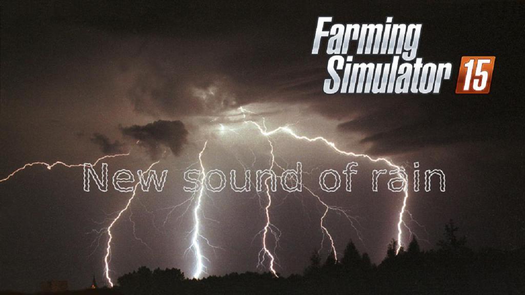 NEW SOUND OF RAIN TO THE FS 2015 V1
