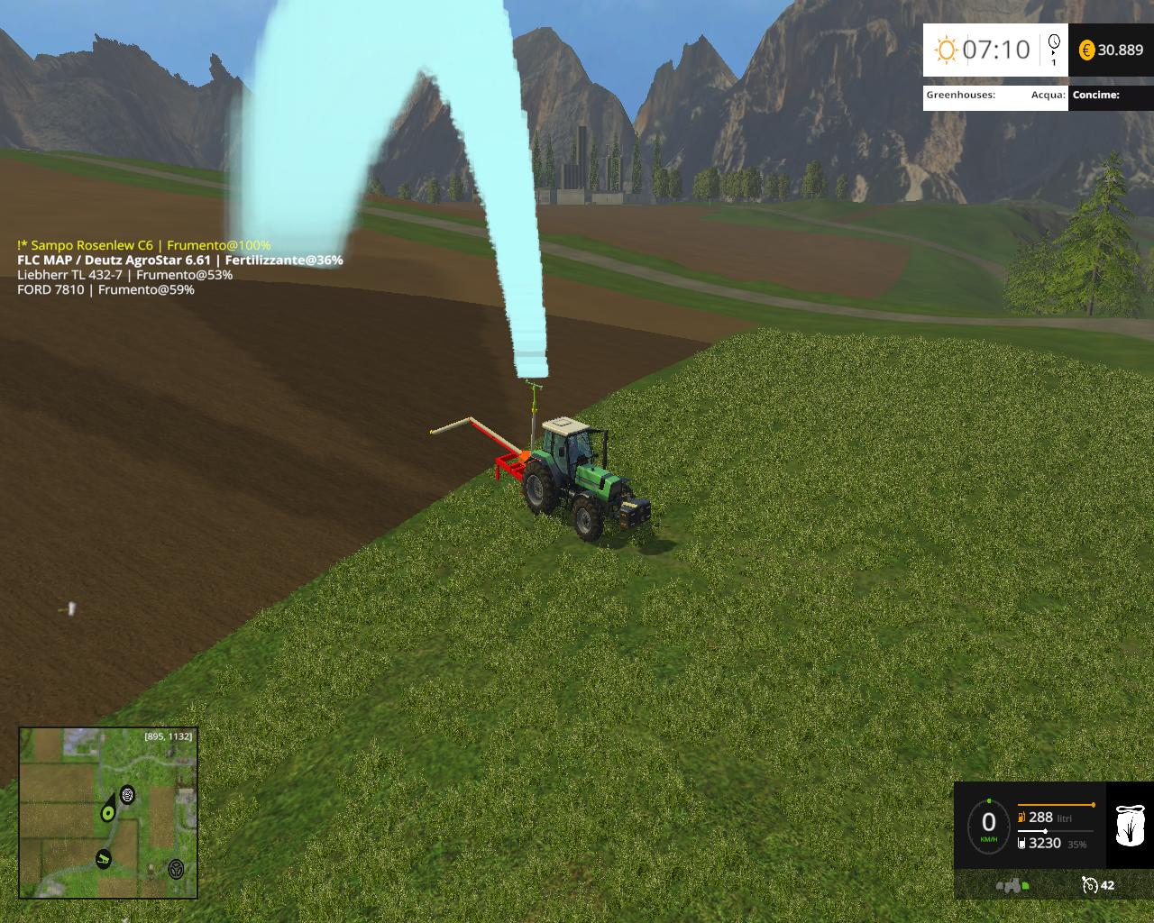 PompaIrrigazioneRicaricabilePack For FS15  Farming