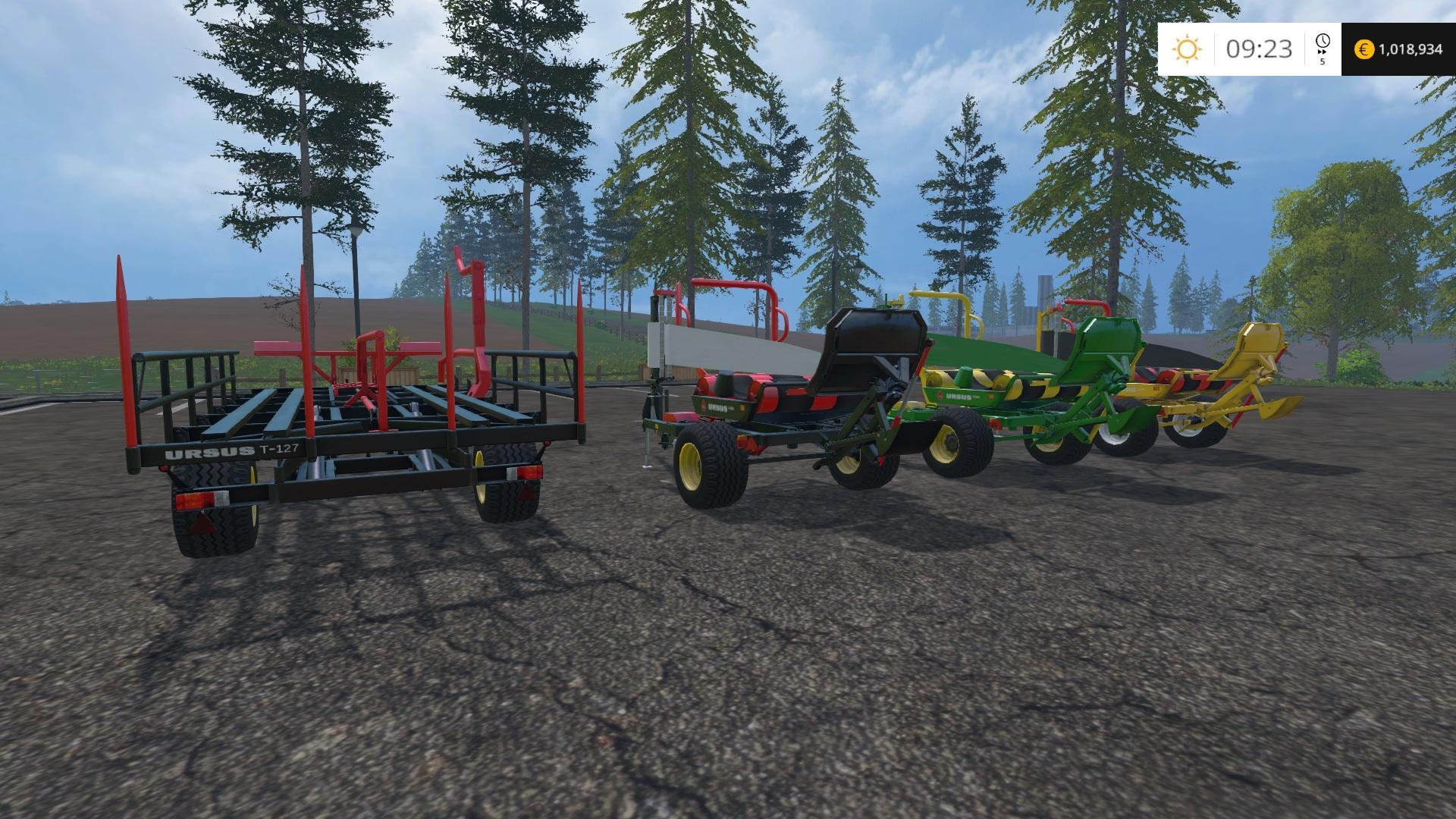 URSUS BALESTACKER AND WRAPPERS V1 MOD - Farming simulator