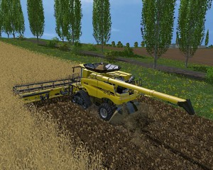 Case IH Axial Flow 9230 Combine V 4.1 Model Turbo (3)