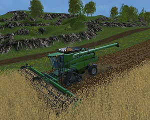 Case IH Axial Flow 9230 Combine V 4.1 Model Turbo (4)