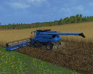 Case IH Axial Flow 9230 Combine V 4.1 Model Turbo (5)