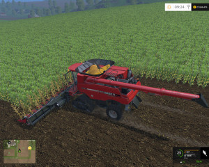 Case IH Axial Flow 9230 Combine V 4.1 Model Turbo (7)
