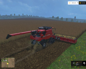 Case IH Axial Flow 9230 Combine V 4.1 Model Turbo (8)