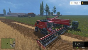 Case IH Axial Flow 9230 Combine V 4.1 Model Turbo (9)