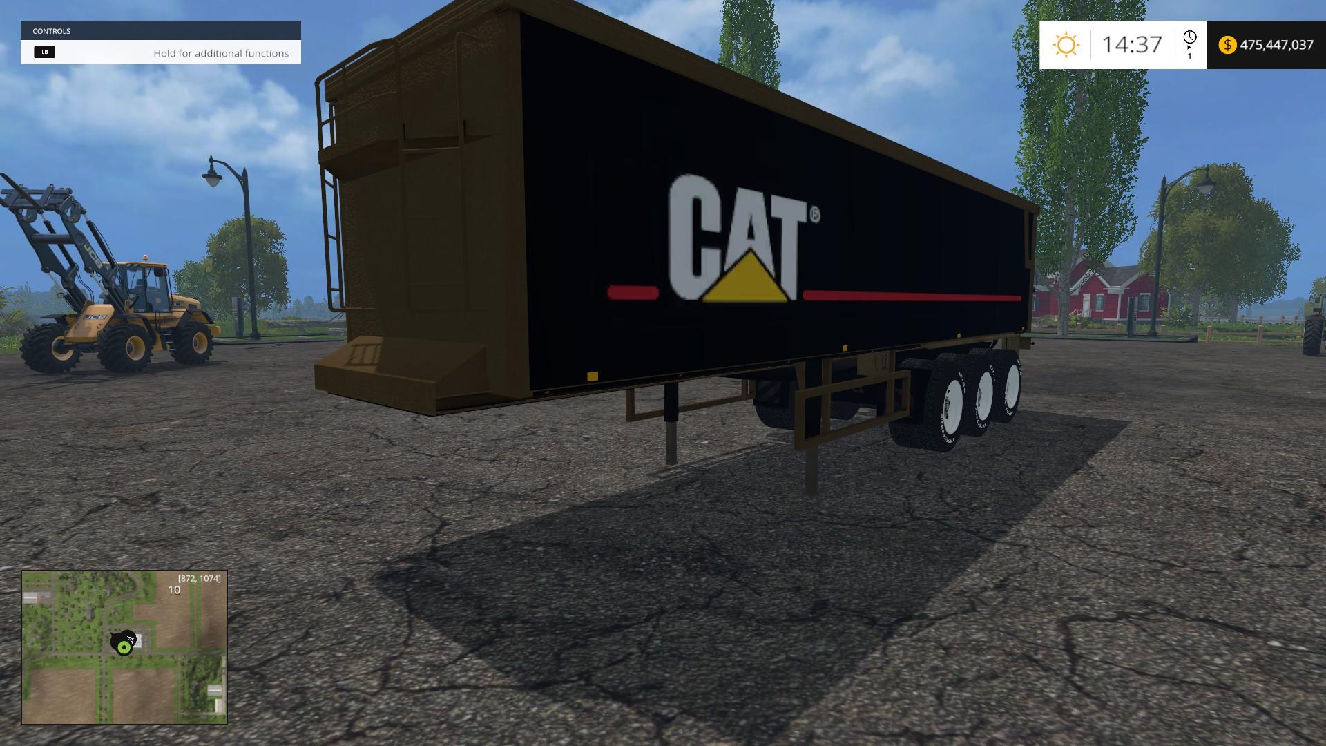 Cat Semitrailer A Sgw For Fs 15 Farming Simulator 2019