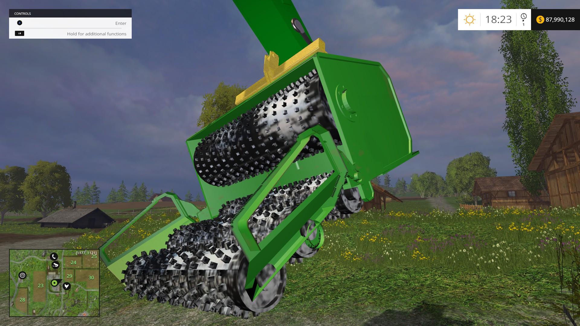 Excavator Chipper Attachment LS 15 - Farming simulator 2019