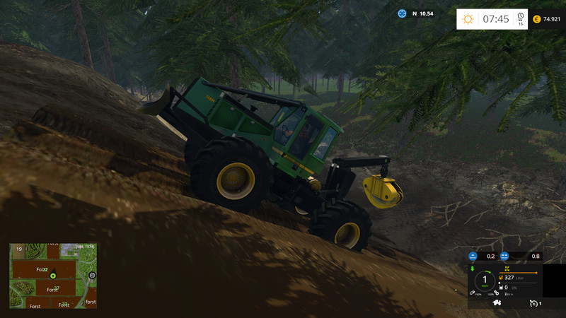 Forest Map V 1 0 - Farming simulator 2019 / 2017 / 2015 Mod