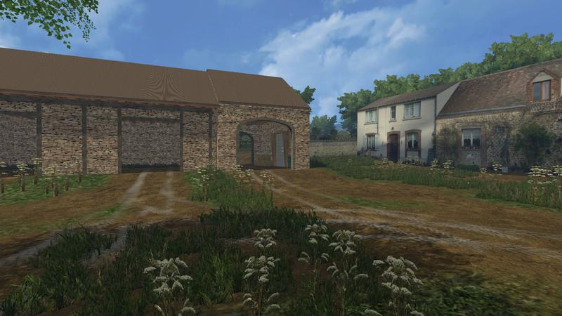 les vall es du perche map v 1 0 beta farming simulator 2015 15 ls mod. Black Bedroom Furniture Sets. Home Design Ideas