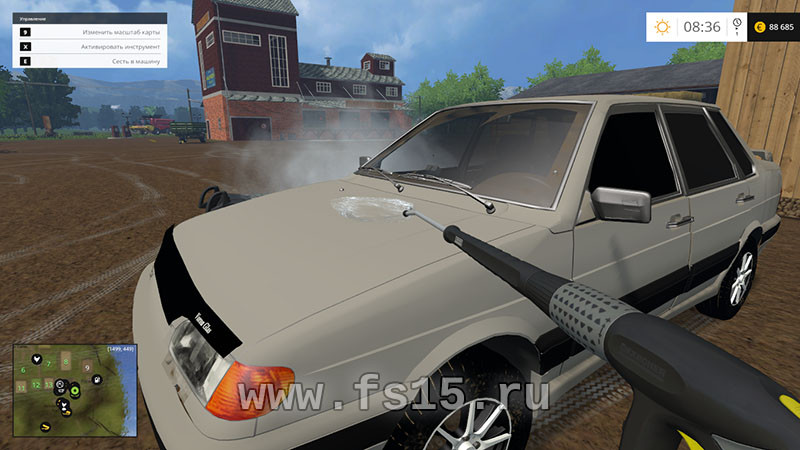 Vaz Lada Samara 2115 Car V 0 5 Farming Simulator 2019 2017