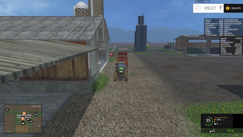 American Farmland Map V Farming Simulator - Fs15 us maps