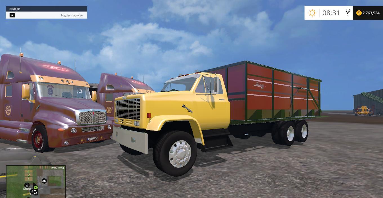 Gmc dump truck for fs 2015 farming simulator 2015 15 ls mod
