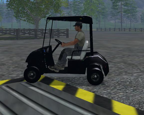Golf Cart V1  Farming Simulator 2019 2017