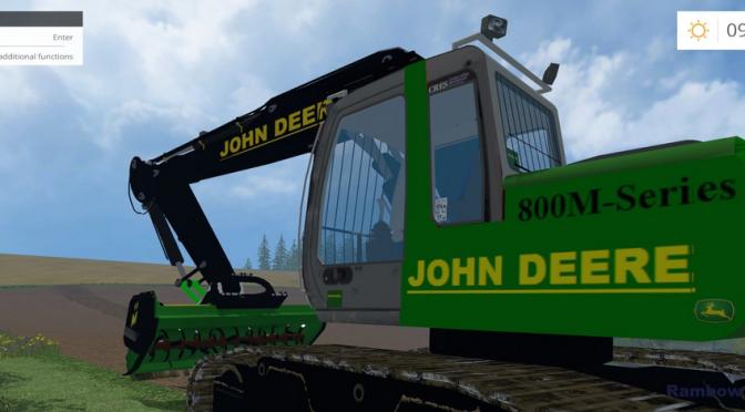 JOHN DEERE EXCAVATOR LONGARM FS15 (UPDATED) - Farming ...