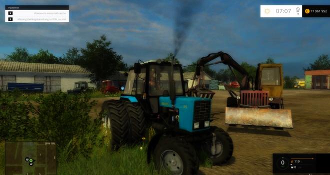 MTZ 82.1 Tractor v2.0
