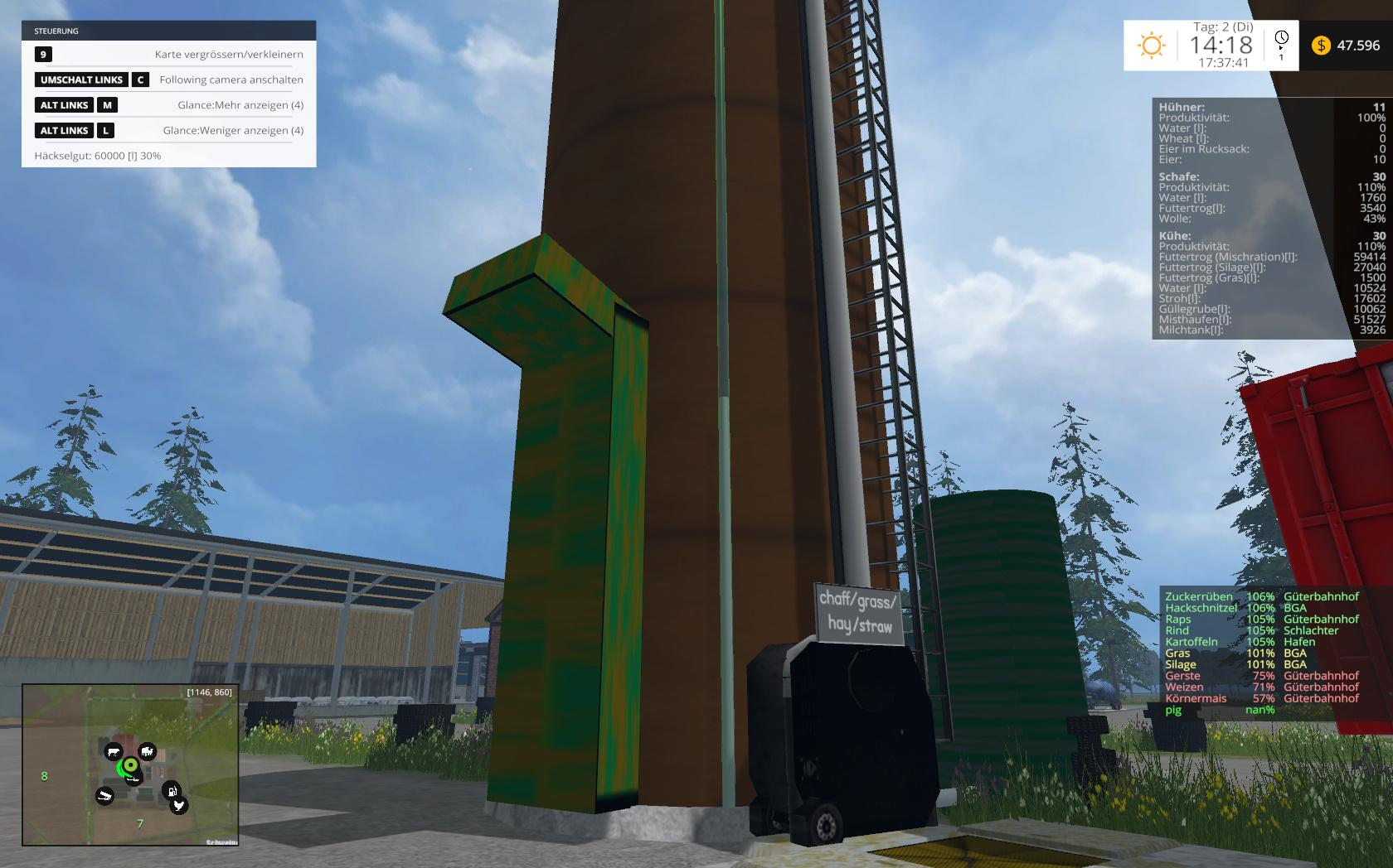 PLACEABLE SILAGE HIGH SILO V2 2 FS 15 - Farming simulator 2019